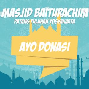 Ayo Donasi Masjid