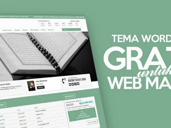 Membangun Website Masjid Menggunakan Wordpress
