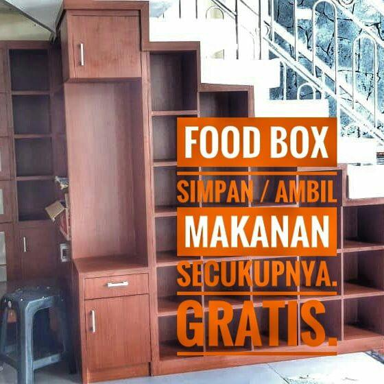 FoodBox di Masjid Baiturachim