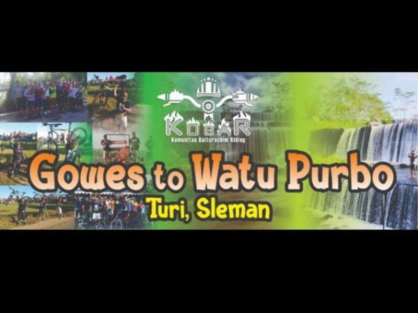 Gowes Ke Watu Purbo Turi Sleman