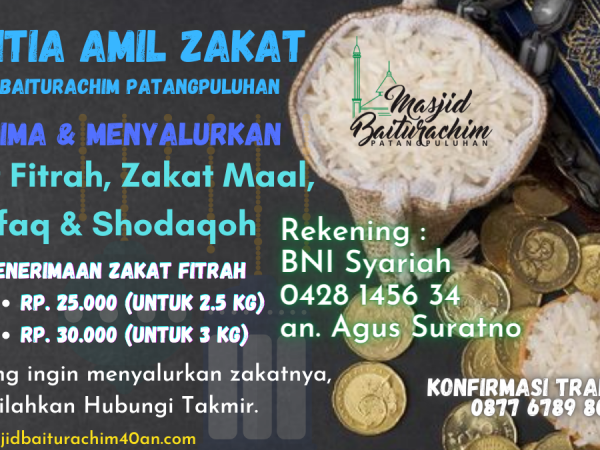 Penerimaan & Penyaluran Zakat 1442H/2021M